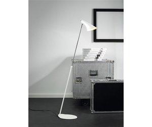 Staande lamp design zwart of wit e  mm hoog myplanetled