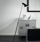 Floor lamp design black or white E14 740-1290mm high