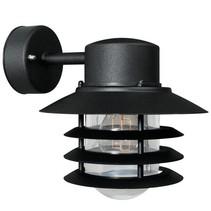 Wandlamp buiten zwart gegalvaniseerd neerwaarts E27 220mm