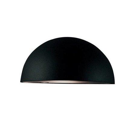 Wandlamp buiten koper-zwart-wit-gegalvaniseerd bol E27