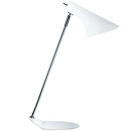 Bureaulamp design wit of zwart E14 440mm hoog