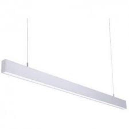 Hanglamp lang LED zwart, wit of grijs 1152mm 18W