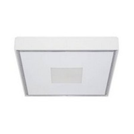 Plafondlamp buiten vierkant LED design 230x230mm 30W