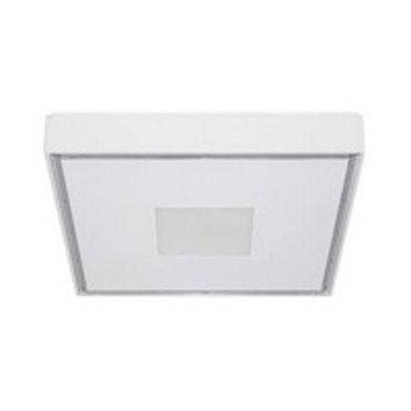 Plafonnier exterieur LED carré design 230x230mm 30W