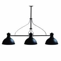 Pendant light dining room vintage black 1200mm E27x3