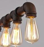 Hanglamp industrieel goedkoop roest 670mm E27x5