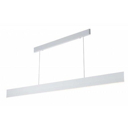 Lange hanglamp SMD LED strak wit of zwart 37W 1,8m