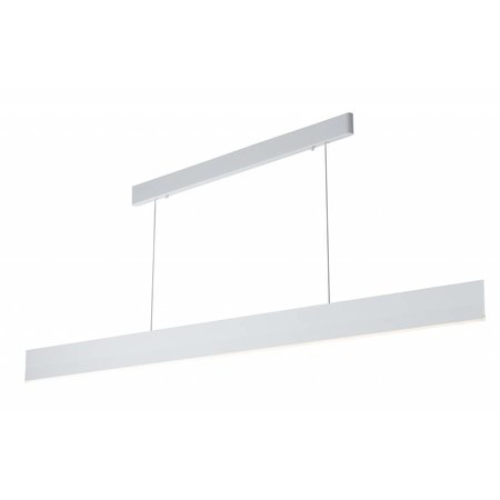 Long dimmable pendant light modern LED black or white 37W 1800mm