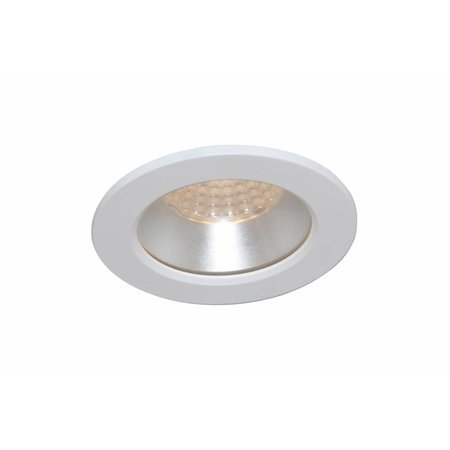 Downlight recessed 85mm bathroom white, black, grey IP44
