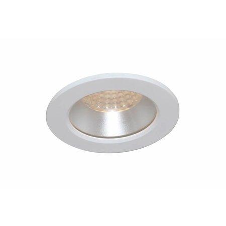 Inbouwspot badkamer wit zwart of grijs GU10 IP44 85mm