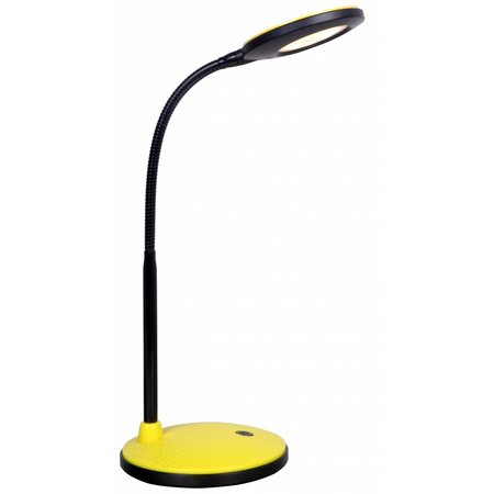 Desk lamp LED black with yellow/red/silver 365mm