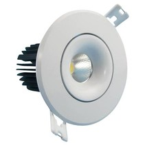 Spot encastrable de cuisine taille de trou 70mm LED 6W 95 mm extérieure