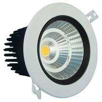 Inbouw LED spot 7W 24°/60° 75mm gatmaat