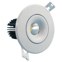 Scie spot encastrable taille 70mm LED 9W design 95mm taille extérieure