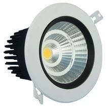 LED inbouwarmatuur 10W diameter 110 mm en 95mm zaagmaat