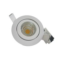 Spot encastrable LED 5W blanc/gris 30°/40°/60°/90° IP45