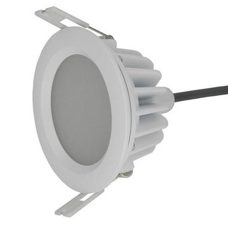 Downlight recessed 12W LED 140° driverless for bathroom
