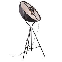 Industrial floor lamp black-white 1900mm E27