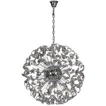 Lustre luxueux design boule bandeaux 106cm Ø