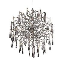 Hanglamp kristal bol G4x20 82cm diameter