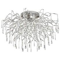 Crystal ceiling light spider G4x16 82cm diameter