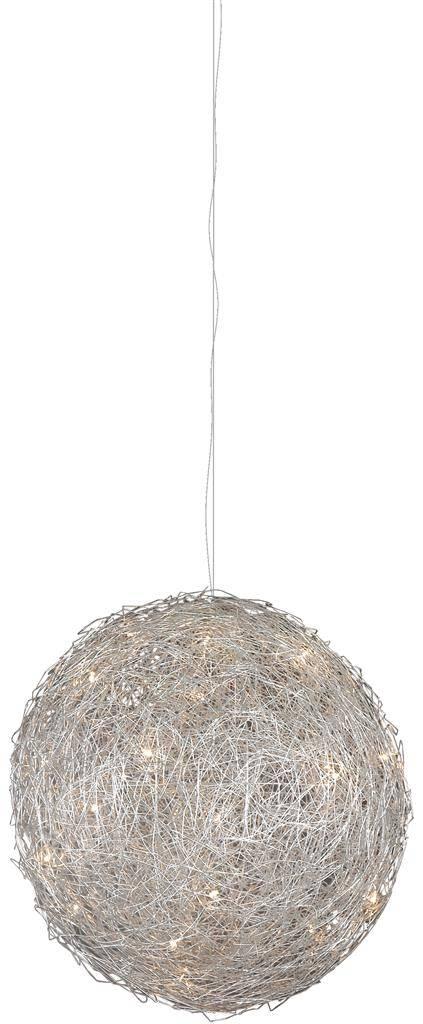 Voorkeur Bol hanglamp ijzerdraad 100cm diameter G4x20 | Myplanetled &XA66