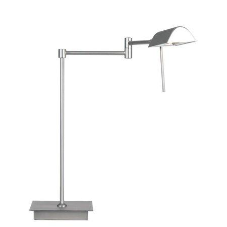 Modern desk lamp grey or brass orientable 38cm H