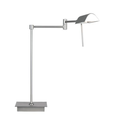 Moderne bureaulamp grijs of brons richtbaar 38cm H