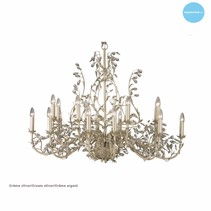 Chandelier pendant light candle lights 7 colours E14x18