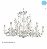 Lustre de luxe baroque chandelier 7 couleurs E14x18