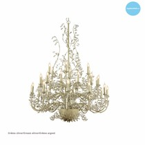 Giant pendant light chandelier 6 colours E14x30 120cm