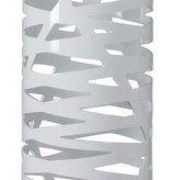 Lampadaire design blanc ouvertures 139cm haut