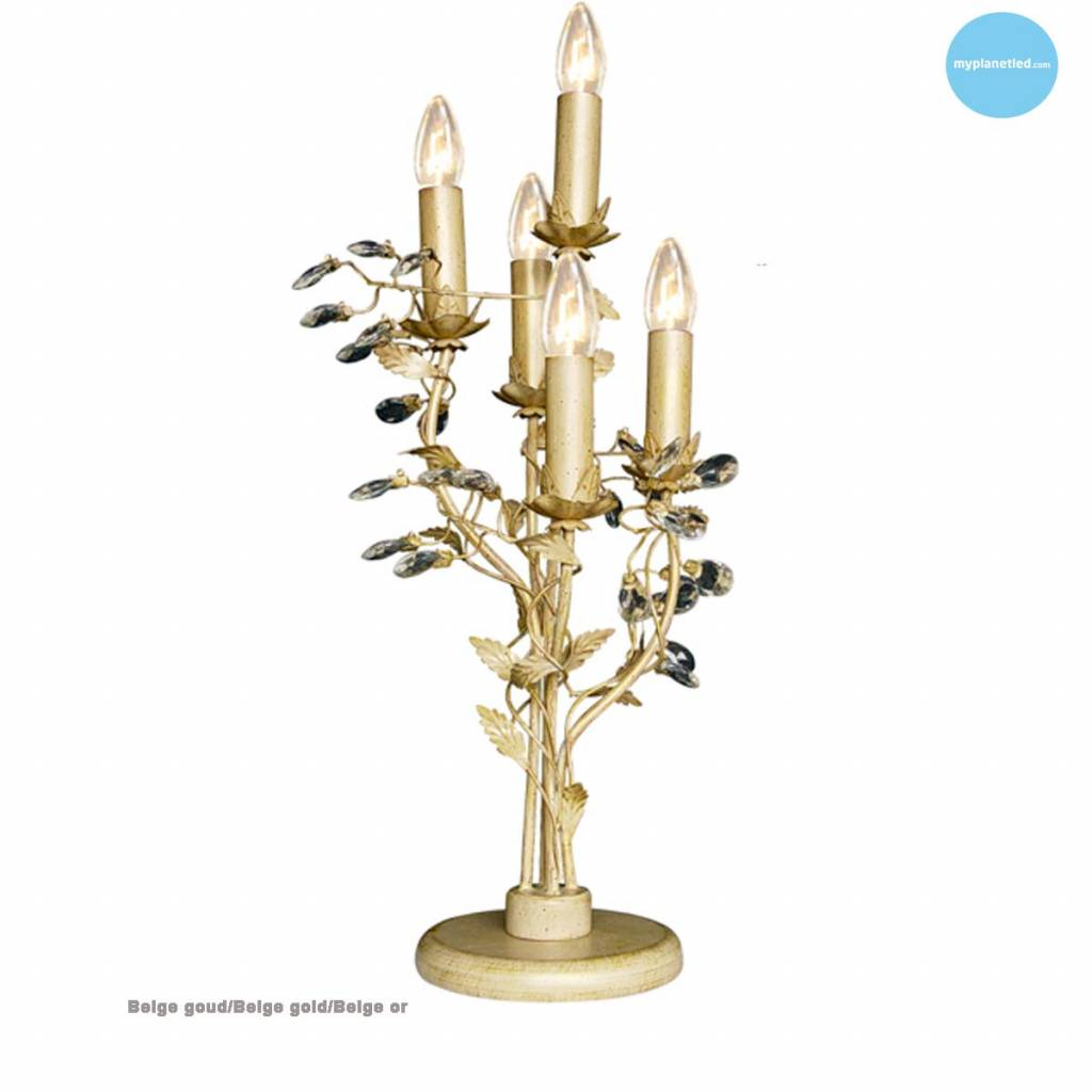Chandelier Table Lamp 5 Candle Lights 7 Colours Myplanetled