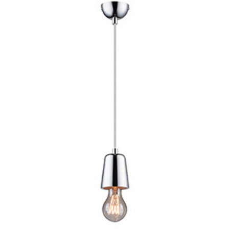 Ing Pendant Light Concrete Chrome