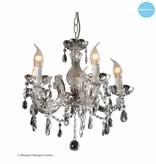 Glazen hanglamp kristal kaarslampen (5, 9 of 12x)