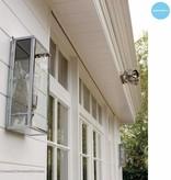 Applique murale extérieure design verre 40cm H E27