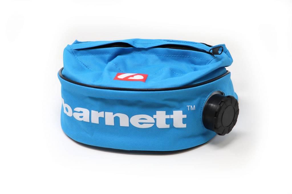 barnett BACKPACK-05 Hüfttasche mit integrierter Thermo- Trinkflasche, Größe L, blau