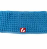 barnett M4 Warmes Stirnband aus Wolle, für Temperaturen bis -30°C, blau