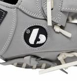 "FL-117 Baseballhandschuh und Leder-Softball hochwertiger Infield / Fastpitch 11,7 "", grau"