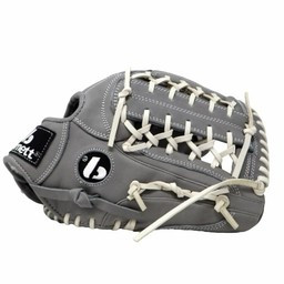 """FL-125 """"hochwertiger Leder Baseballhandschuh Infield / Outfield / Pitcher, grau"""