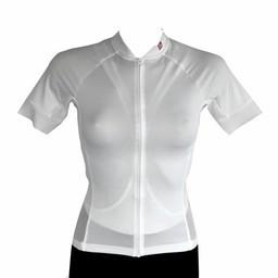 barnett Fahrradbekleidung -  Kurzarmtrikot  Damen Weiss