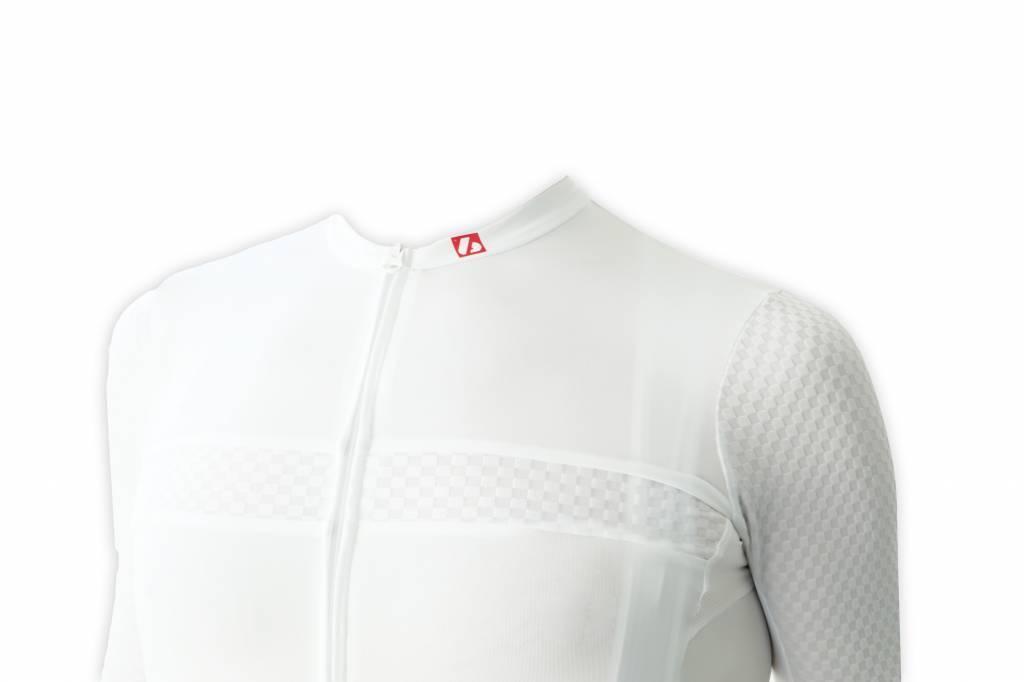 Fahrradbekleidung -  Kurzarmtrikot  Herren Weiss