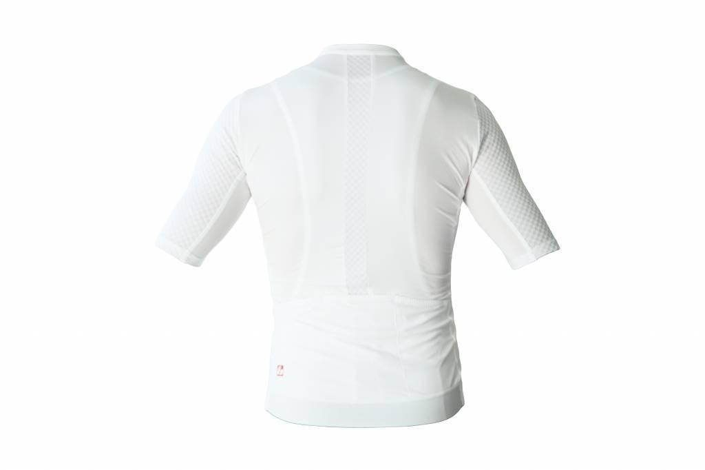 Bike textile-Kurzarm jersey,  weiß