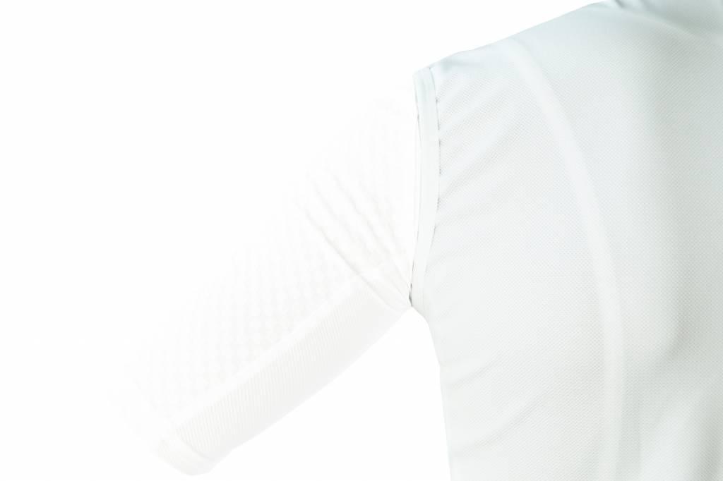 Textil-Fahrrad-Weste Windschutzscheibe ohne ärmel weiß