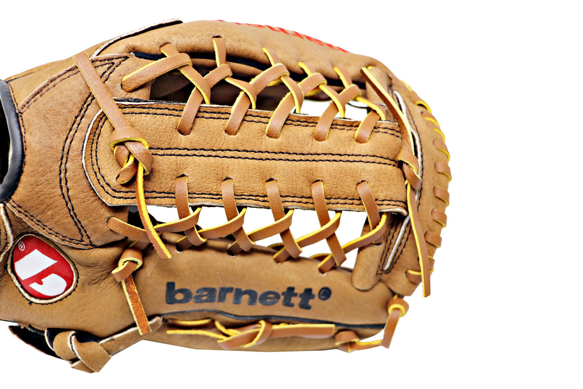 "barnett SL-125 Baseball Handschuh, Schweinsleder, Outfield, Größe 12,5"" (inch)"