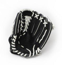 """barnett GL-115 Baseball Handschuh, Echtleder, Wettkampf, Infield, Größe 11,5""""(inch) schwarz"""