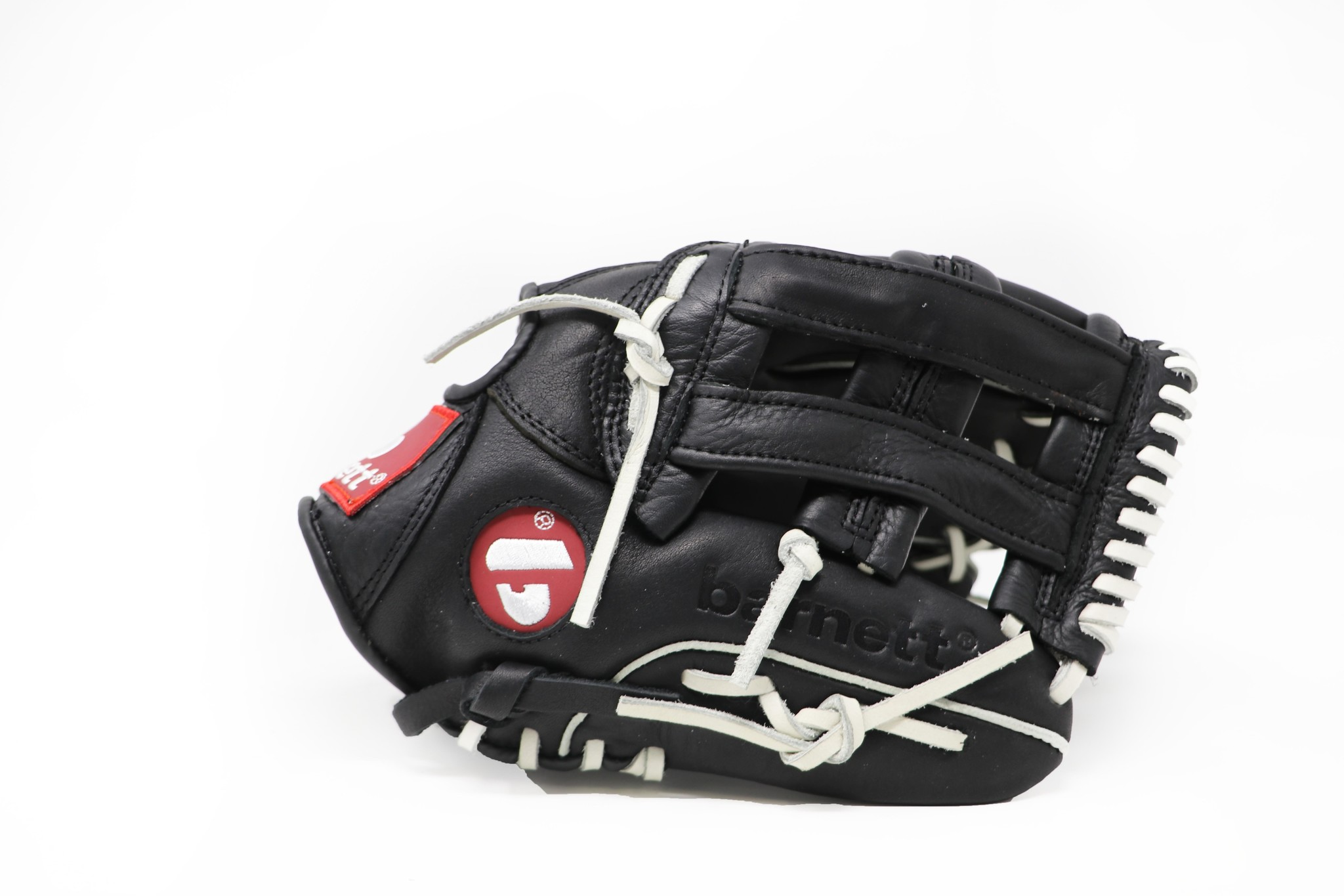 """barnett GL-120 Baseball Handschuh, Echtleder, Wettkampf, outfield Größe 12"""" (inch), schwarz"""