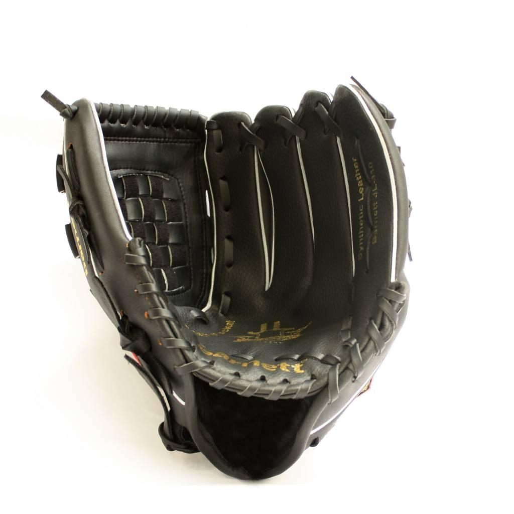 barnett BGBA-1 Baseball Aluminium Senior Adults Set, für Anfänger, Einsteiger, 1 Schläger + 1 Handschuh + Ball (BB-1 32, JL-120, TS-1)