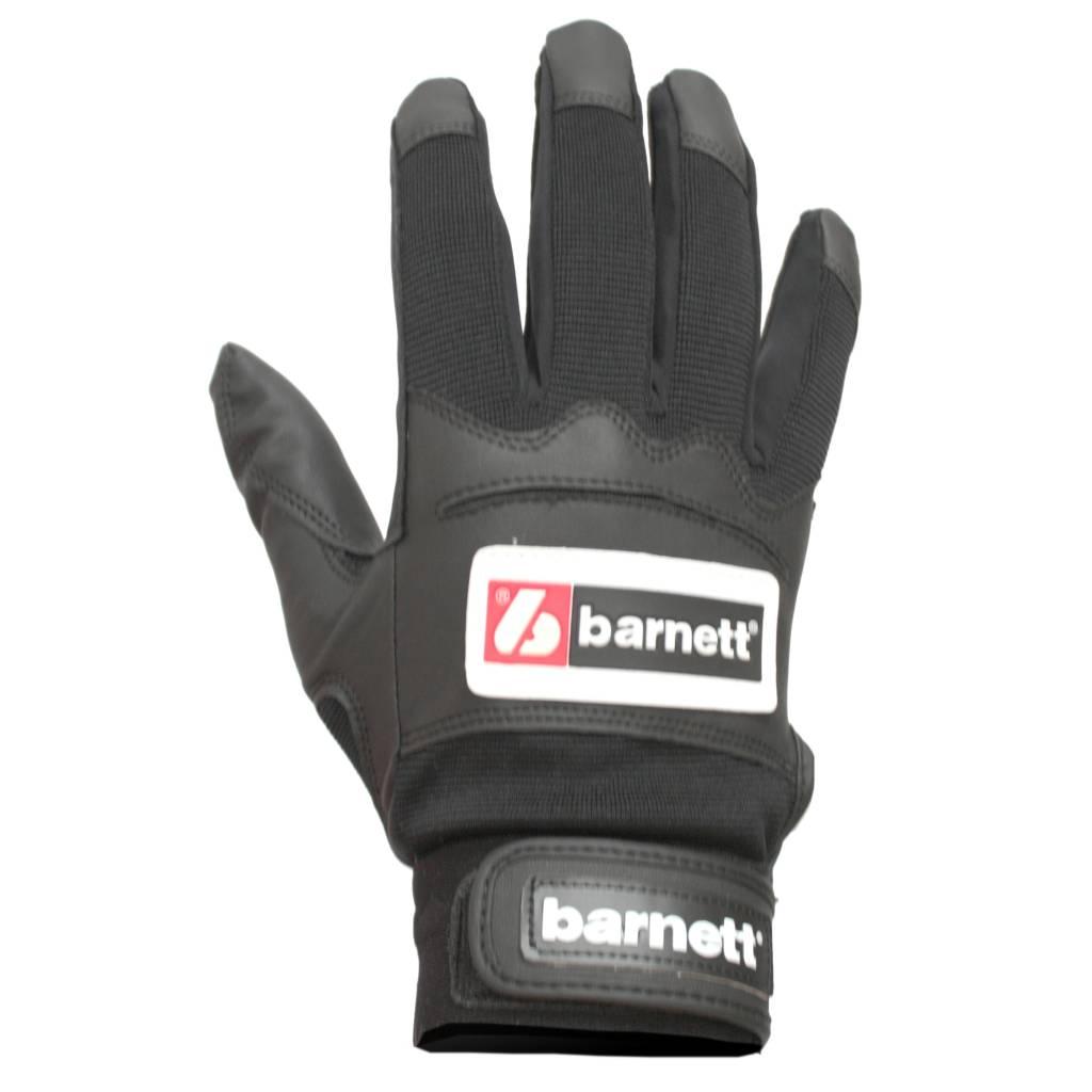 barnett BBG-01 Baseball Schlagmann Batting Handschuhe, schwarz
