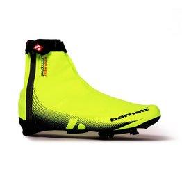 barnett BSP-05 Neongelbe Fahrrad- Überschuhe, wasserabstoßend